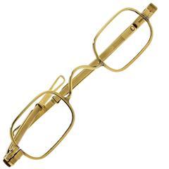 McAllister 18 Karat Yellow Gold Eye Glasses, circa 1820s