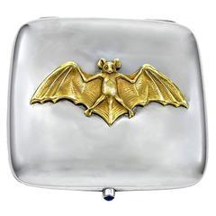 Antique and Unique Sterling Bat Case