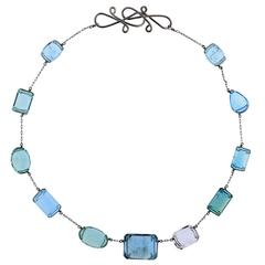 Grace XI Aquamarine Necklace