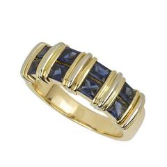 Cartier Sapphire and Gold Ring