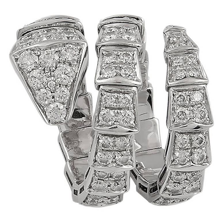 Bulgari Serpenti Diamond Ring