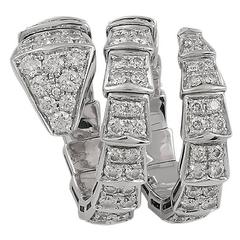 Bulgari Serpenti Diamond Ring