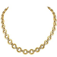 Cartier Gold Diamond Chain