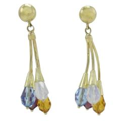 18 kt Gold Dangle Earrings