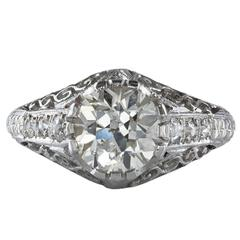 Antique 1.80 Carat Diamond Ring