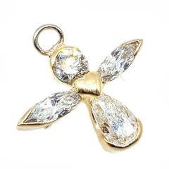 Diamond Angel Pin/Pendant