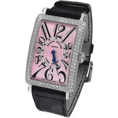 Franck Muller Stainless Steel Long Island Wristwatch