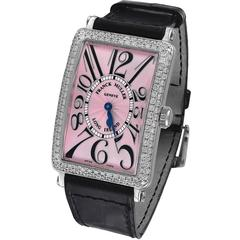 Franck Muller Stainless Steel Long Island Wristwatch