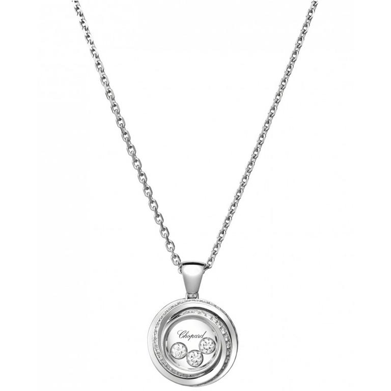 White Gold Happy Emotions Chopard Necklace