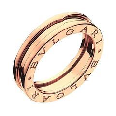 Bulgari Pink Gold BZero1 Band Ring
