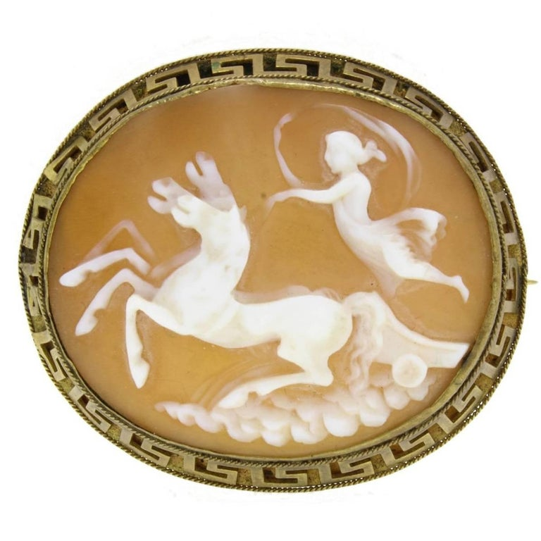 Cameo Brooch For Sale