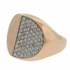 G. Bulgari Enigma Diamond Rose Gold Ring