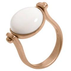 Petronilla Handmade in Italy Roman Style Kogolong 18Kt Gold Reversible Ring