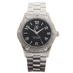 Tag Heuer Ladies Stainless Steel Aquaracer WAF10 Quartz Wristwatch