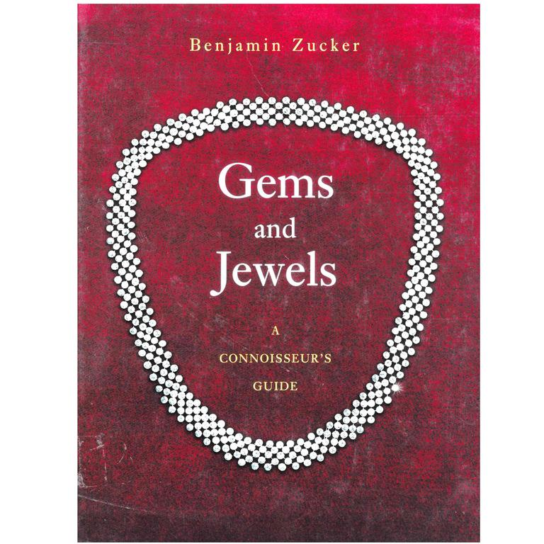 """Book of """"Gems and Jewels - A Connoisseur's Guide"""""""