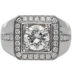 2.00 Carat Round Brilliant Cut Diamond Ring