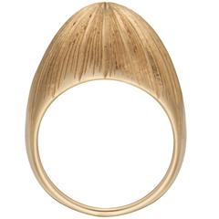 Zara Simon Hand Engraved Gold Rio Ring