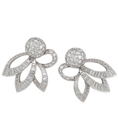 Cartier Mid-Century Diamond Boule Earrings