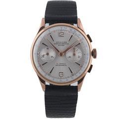 Danicar Rose Gold Antimagnetic Chronograph Wristwatch