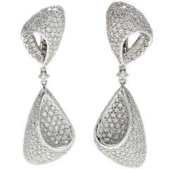 Luise Diamond Dangle Earrings