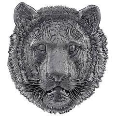 Buccellati Sterling Silver Lion Head Tray