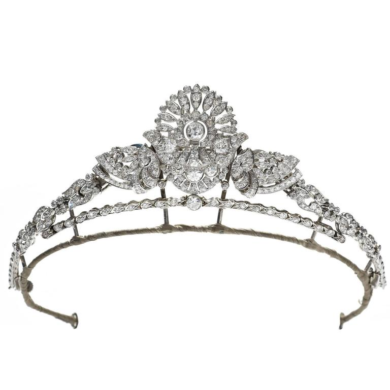 Art Deco convertible tiara, 1920s