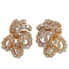M. Gerard Diamond Gold Earrings