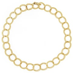 Jona 18 Karat Yellow Gold Link Bracelet