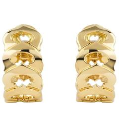 Cartier C de Cartier Yellow Gold Earrings