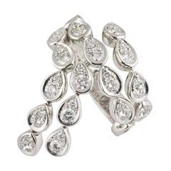 Piaget 1.65 Carats Articulated Diamonds White Gold Ring