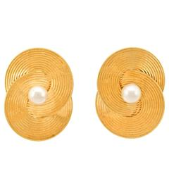 Tiffany & Co. Retro 1950s Gold Earrings