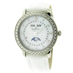 Blancpain Ladies Complete Calendar Self Winding Wristwatch