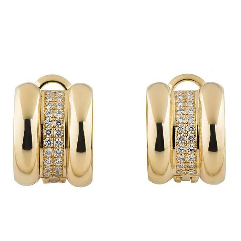 Chopard La Strada Diamond Earrings 1