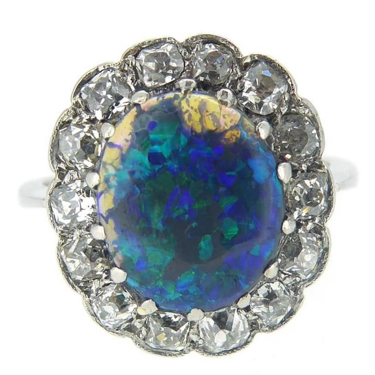 fullxfull cz ring accented engagement opal delicate il fire listing natural rings black
