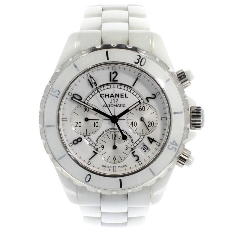 Chanel Ceramic Case J12 Chronograph Automatic Wristwatch  1