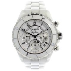 Chanel Ceramic Case J12 Chronograph Automatic Wristwatch