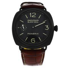Panerai Ceramic Black Seal Wristwatch Ref PAM292