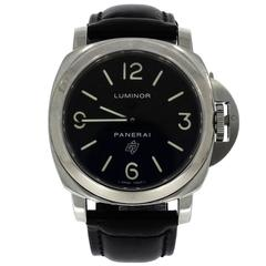 Panerai Stainless Steel Luminor Wristwatch Ref OP6616