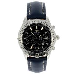 Breitling Stainless Steel Windrider Shadow Flyback Automatic Wristwatch