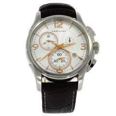 Hamilton Stainless Steel Jazz Automatic quartz Wristwatch Ref H326120