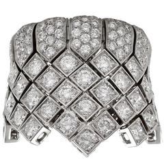 Cartier Diamond white gold cocktail Ring