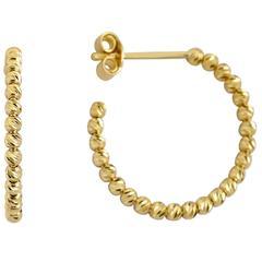 Ellie Gold Hoop Earrings