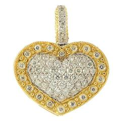 Stambolian Diamond Gold Heart Enhancer