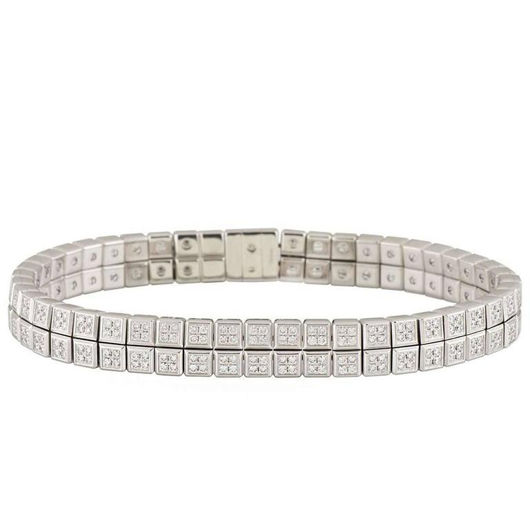 Chopard Ice Cube Diamond Bracelet in 18K Yellow Gold ZrCPNhlc