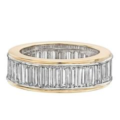 Diamond Baguette Eternity Band Ring
