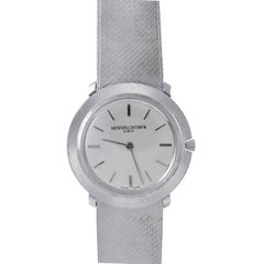 Vacheron Constantin Ladies' White Gold Manual wind Wristwatch