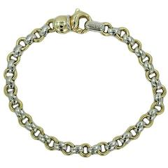 Two Color Chimento Link Bracelet