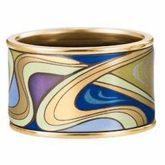 Frey Wille Hommage A Alphonse Mucha Aquamarine Bangle