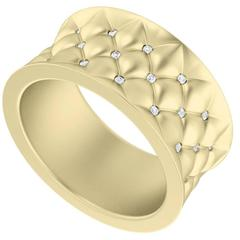 StyleRocks Diamond Lattice Gold Ring