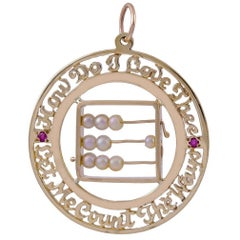 How Do I Love Thee Abacus Charm